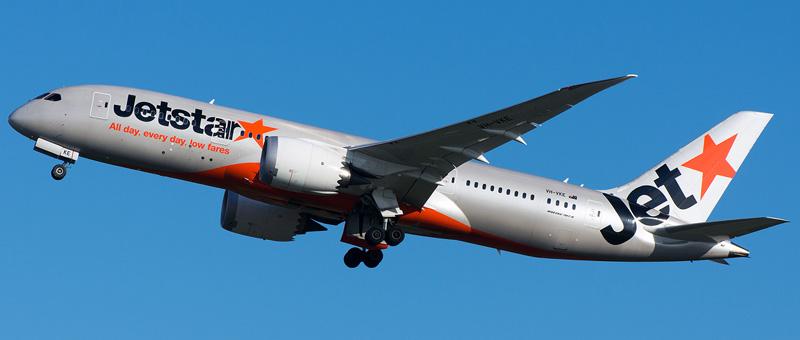 Jetstar Airlines Boeing 787-8 Dreamliner