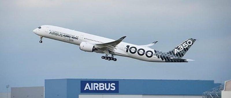 Первый Airbus A350-1000 завершил испытательный полет с пассажирами