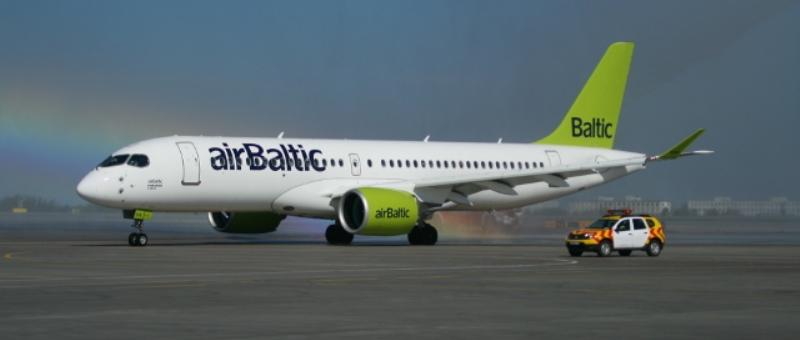 К концу 2019 года airBaltic получит 20 Bombardier CS300