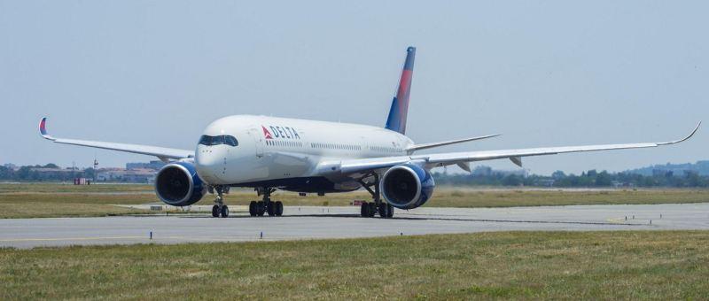 Delta Air Lines получила в авиапарк первый Airbus  A350-900