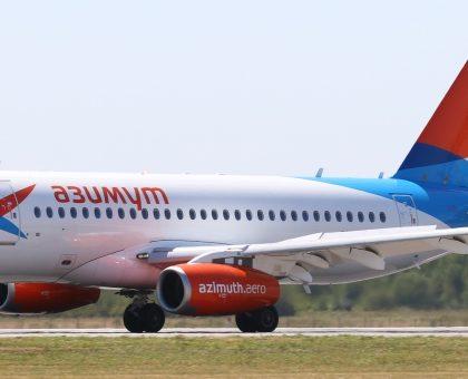 Авиакомпания «Азимут» получила третий Sukhoi SuperJet 100