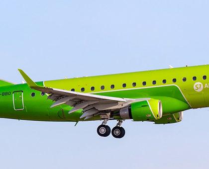 Схема салона Embraer ERJ-170 S7 Airlines. Лучшие места в самолете