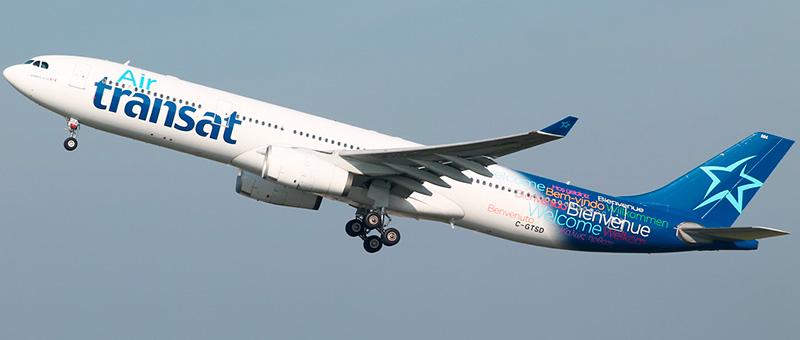 Air Transat Airbus A330-343
