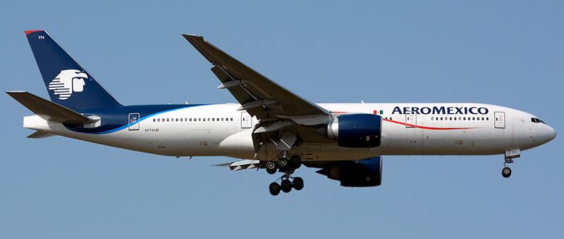 Aeromxico Boeing 777-200