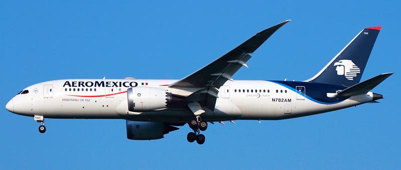 Aeromxico Boeing 787-8 Dreamliner