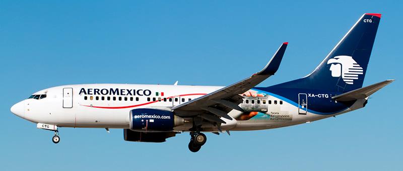 Aeromxico Boeing 737-700