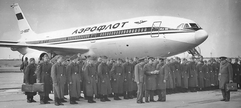 Легендарный Ил-86 празднует 41-летие