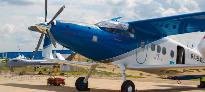 В Якутии испытывают новый самолет Улан-Удэнского завода