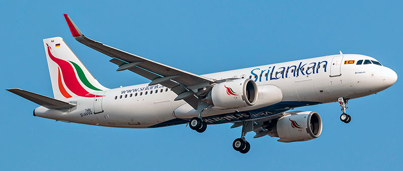 Srilankan Airlines Airbus a320neo