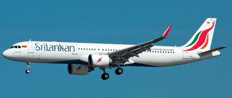 Srilankan Airlines Airbus A321neo