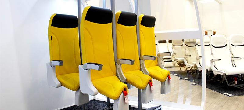 В самолетах будущего появятся стоячие места