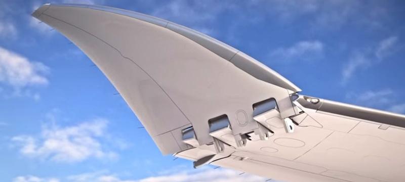 Компания Boeing создает складной самолет