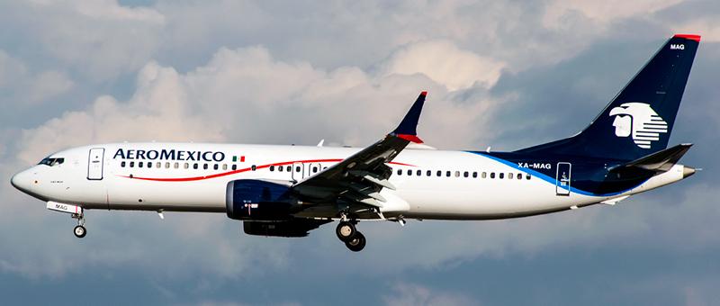 Boeing 737-8-MAX AeroMexico