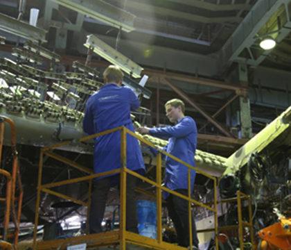 В институте им. Жуковского испытывают новый самолет