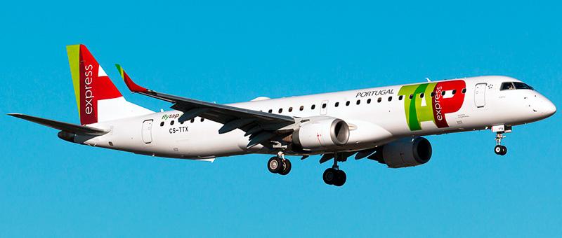 TAP Embraer ERJ-195