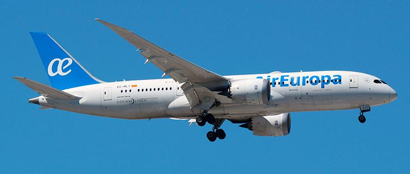 Air Europa Boeing 787-8 Dreamliner