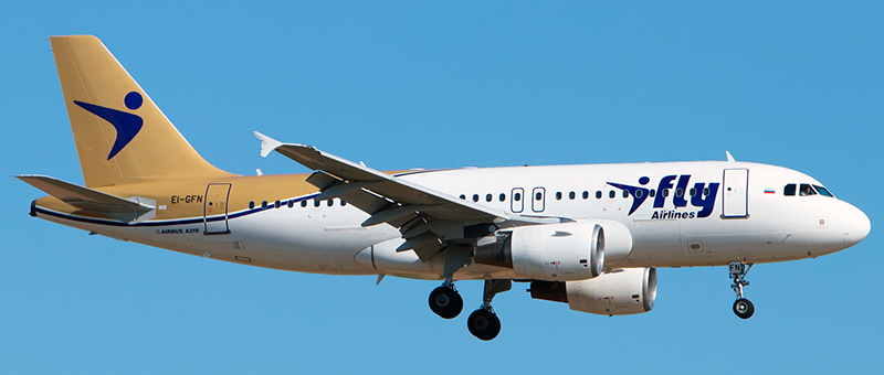I-Fly Airbus A319-100
