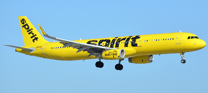 Spirit Airlines Airbus A321-200