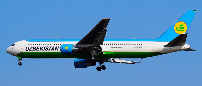 Uzbekistan Airways Boeing 767-300