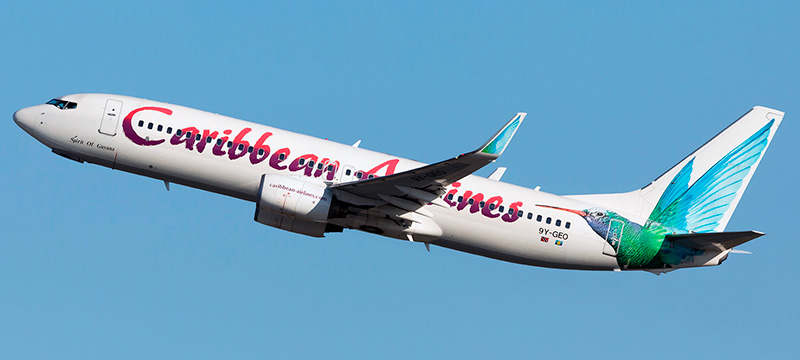 Caribbean Airlines Boeing-737-800