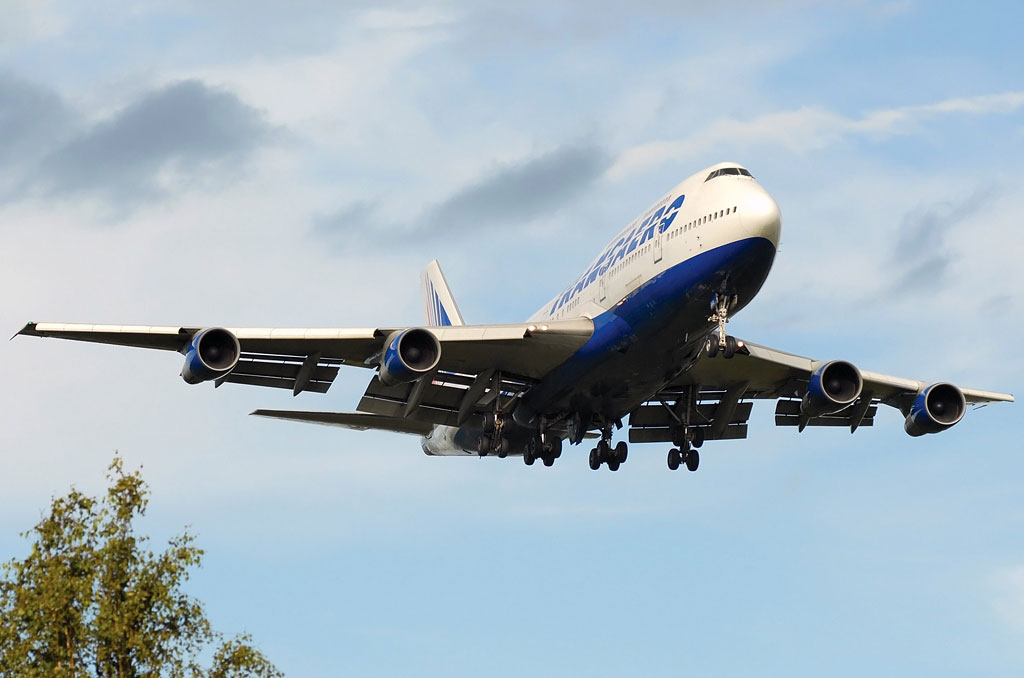 Фотографии Boeing 747-300 (Боинг 747-300) — Трансаэро