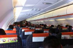 Салон Airbus A320 EasyJet