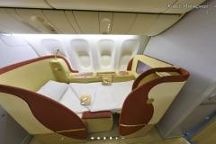 Салон империал класса Boeing 777-300 Трансаэро