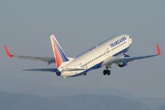Самолет 737-800 EI-RUD Трансаэро