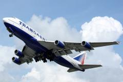 VP-BVR Transaero Boeing 747-400