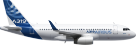 Длина Airbus A319