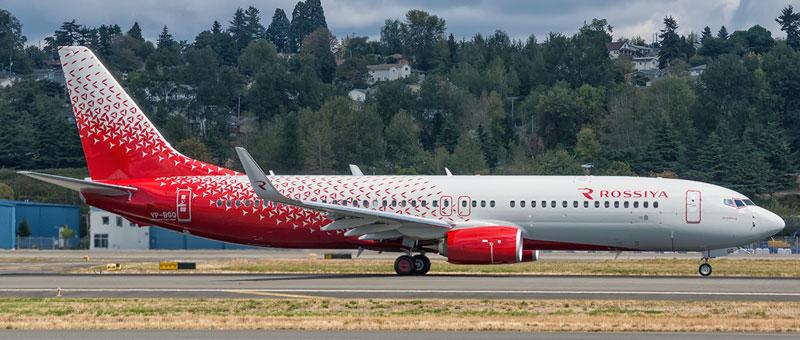 Boeing 737-800 Rossiya
