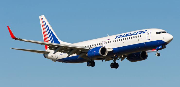 Лучшие места в самолете Boeing 737-800 – Трансаэро