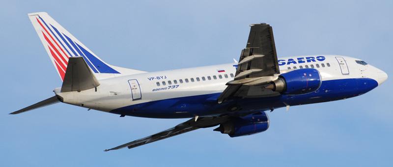 Лучшие места в самолете Boeing 737-500 — Трансаэро