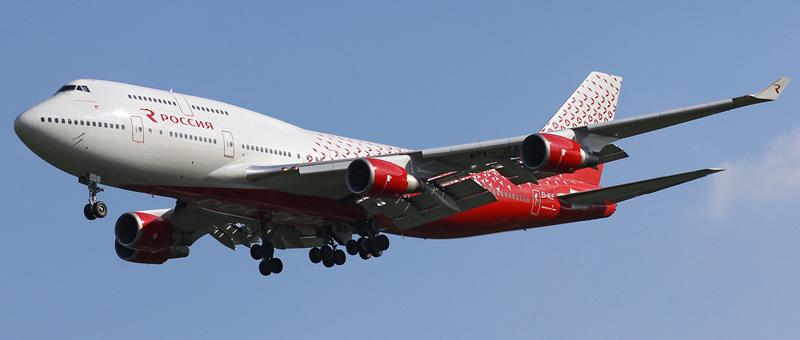 Boeing 747-446 Россия