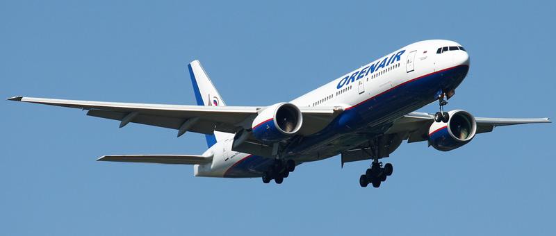 Boeing 777-200 (Боинг 777-200) Оренбургских авиалиний. Фото и описание самолета