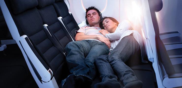 Удобные места в самолете. Частный случай – ночные, незагруженные и несезонные рейсы