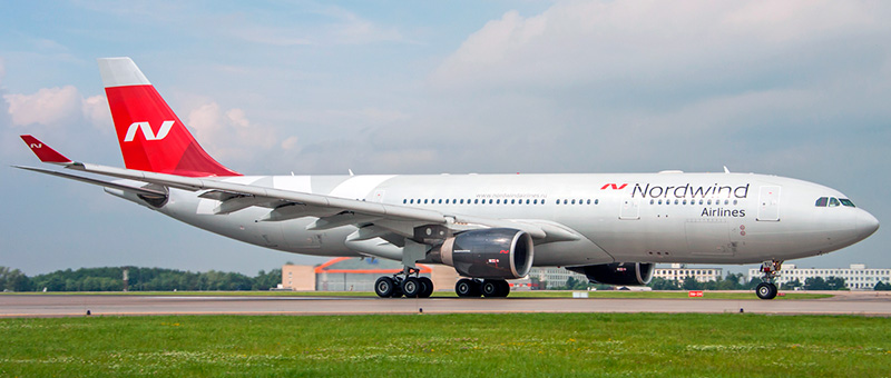 Airbus A330-223 Nordwind Airlines
