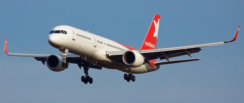 """Boeing 757-200 – """"Nordwind"""". Лучшие места в самолете"""