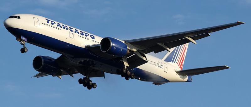 Фотографии Boeing 777-200 (Боинг 777-200) — Трансаэро