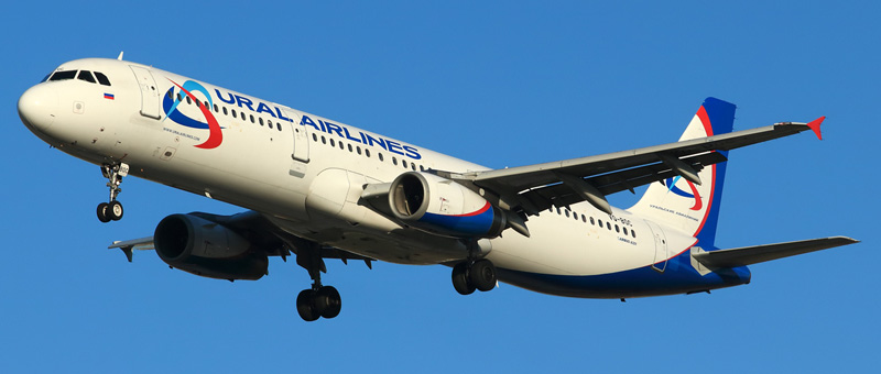 Airbus A321 Уральские авиалинии. Фото и описание самолета