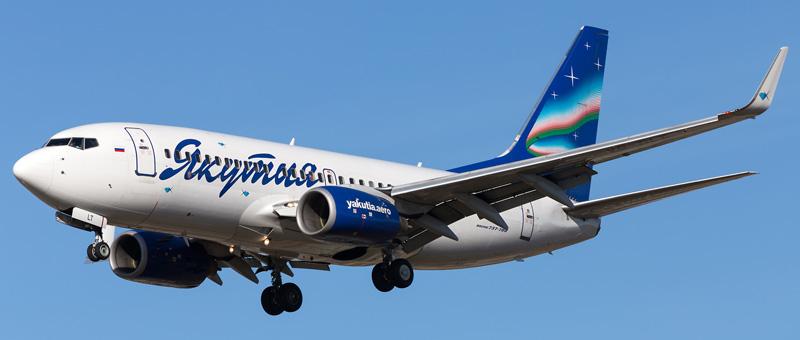 Boeing 737-700 (Боинг 737-700) – Якутия. Фотографии и описание