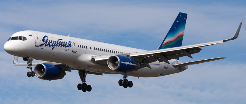 Boeing 757-200 Якутия. Фото и описание самолета