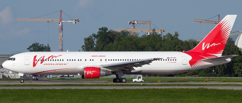 Boeing 767-300 VIM Airlines
