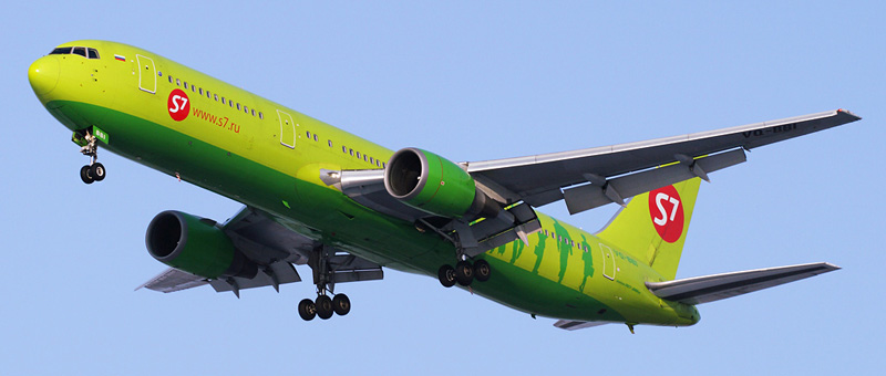 Boeing 767-300 S7 Airlines. Фото и описание самолета