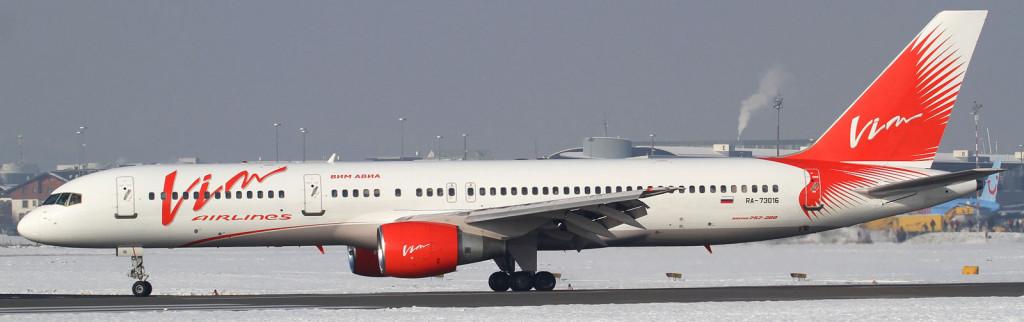 VIM Airlines Boeing-757-200