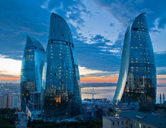Билеты на самолет Сургут - Баку