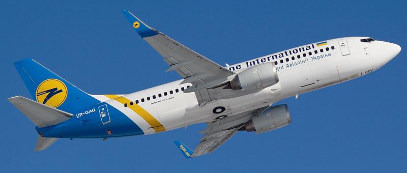 Boeing 737-300 (Боинг 737-300) — Международные авиалинии Украины