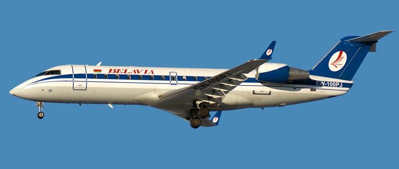 Canadair CRJ-100ER Белавиа