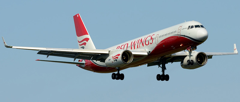 RA-64018 Red Wings Tupolev Tu-204-100