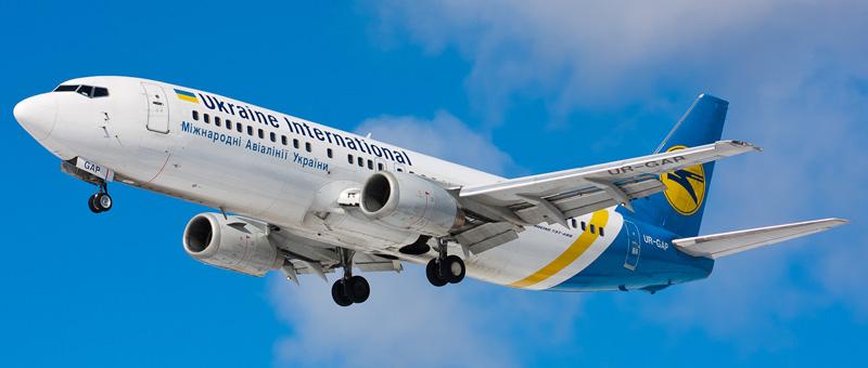 Boeing 737-400 (Боинг 737-400) — Международные авиалинии Украины